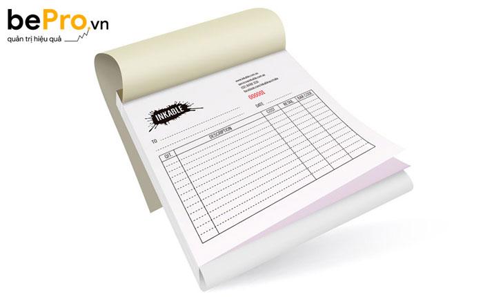 biên bản bàn giao hóa đơn