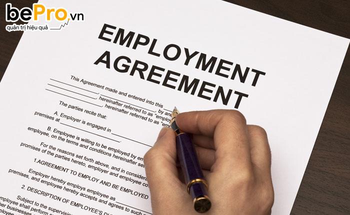 mẫu hợp đồng lao động ngắn hạn