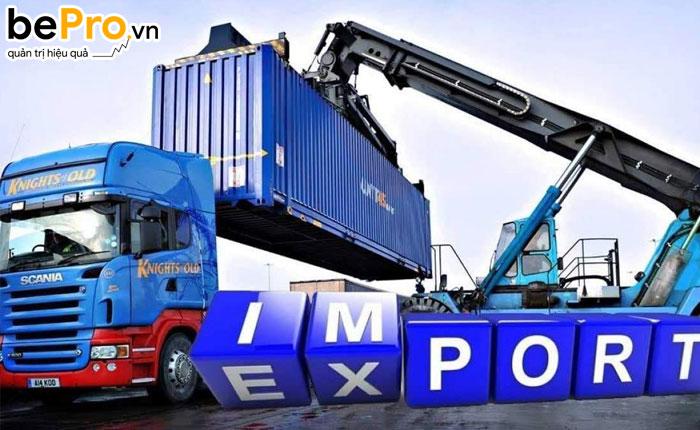 hạch toán hàng nhập khẩu