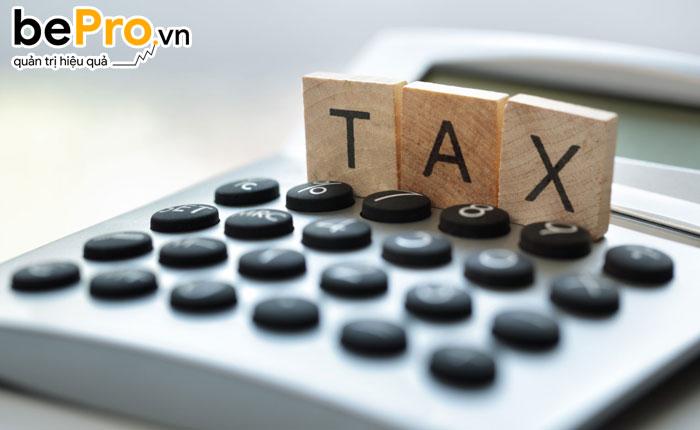 hạch toán tiền chậm nộp thuế