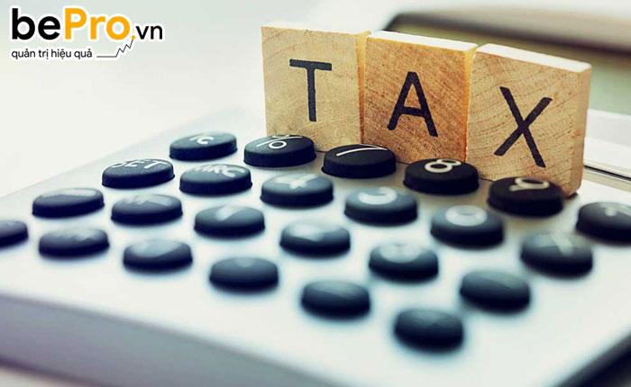 thuế và các khoản phải nộp nhà nước 01