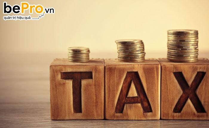 thuế và các khoản phải nộp nhà nước