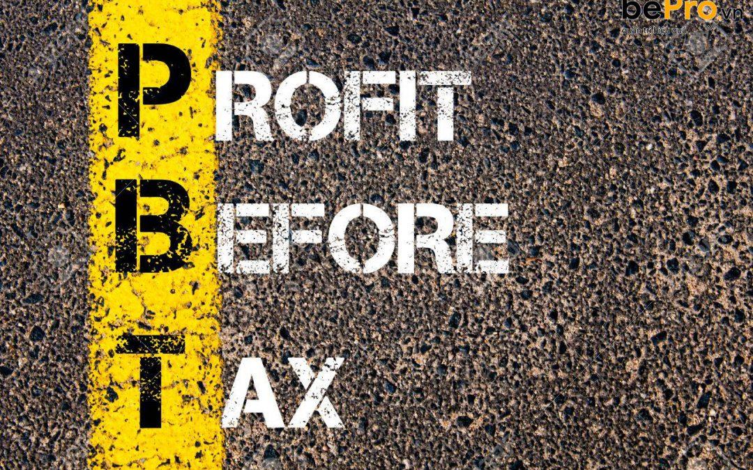 Ý nghĩa của lợi nhuận trước thuế đối với doanh nghiệp