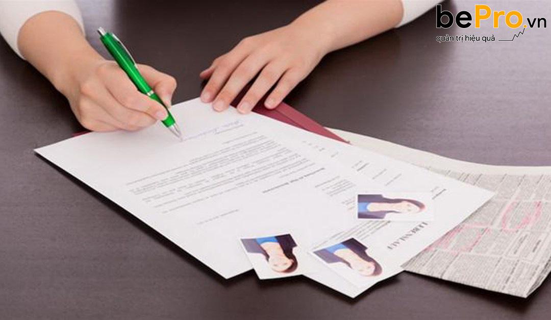 Mẫu đơn xin việc dành cho kế toán tổng hợp