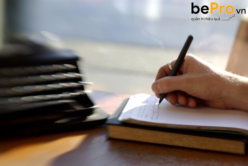 Mẫu đơn xin việc viết tay phổ biến dành cho kế toán